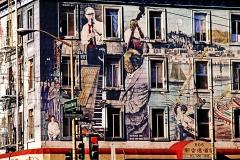 SF  Jazz Mural