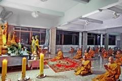 Monks Meditation and Prayer